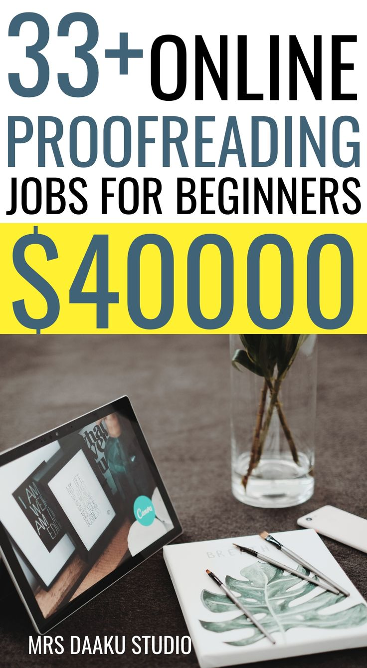 Online proofreading jobs for beginners (Earn 40k+ with no