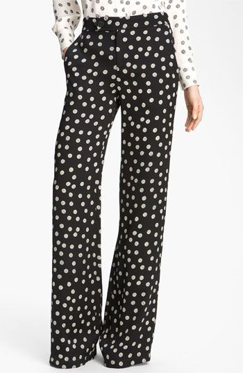 Nordie's Polka Dot Wide Legged Pants