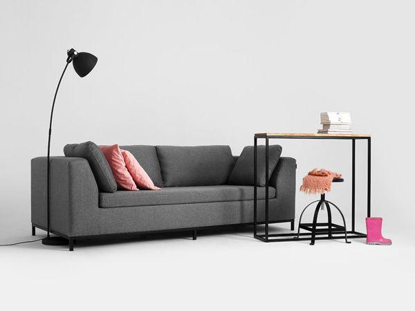 Sofa rozkładana Ambient szary  | Modern design sofa bed grey