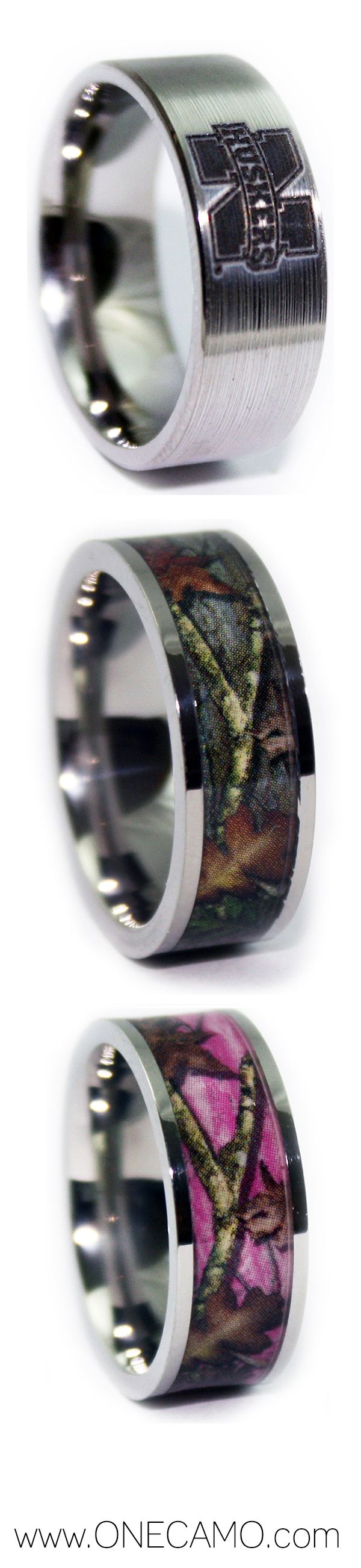 Best Electrician Ceramic Bands Blaze Orange Camo Rings CZ Diamond Camo Engagement Rings and so