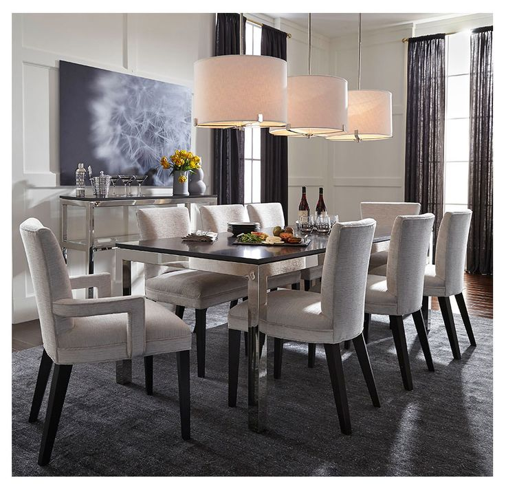 Shop Our Well Dressed SIDNEY SIDE DINING CHAIR. An Elegant Finishing Touch  In Modern Classic Contemporary Style.