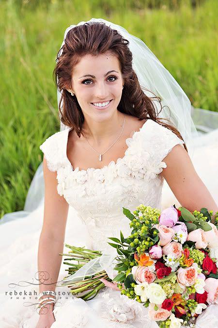 Modest Wedding Gown...