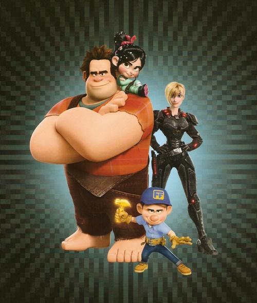 Wreck It Ralph cast