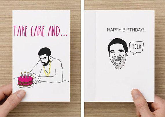 drake birthday card - Google Search