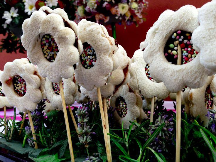 Nutella flowers