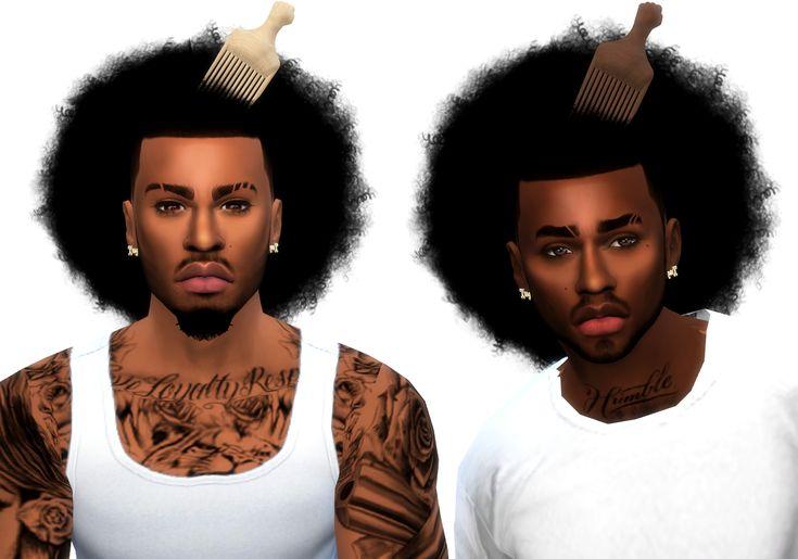 Jarome fro sims 4 cc custom content black male