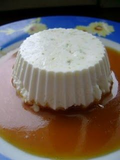 Zöldcitromos panna cotta karamell öntettel | Recept | Gasztrotipp