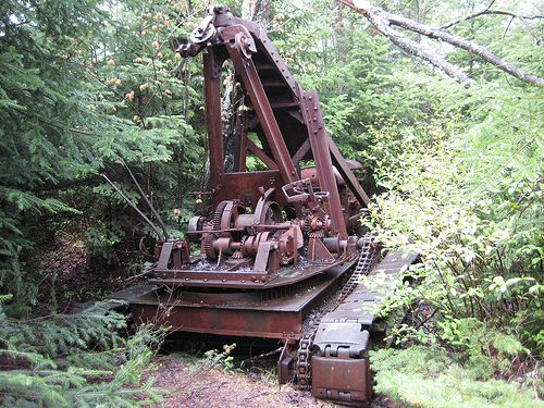 old logging machinery | Recent Photos The Commons Getty Collection Galleries World Map App ...