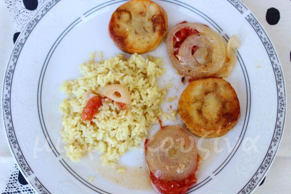 μικρή κουζίνα: Ροδέλες βακαλάου με λαχανικά στο φούρνο