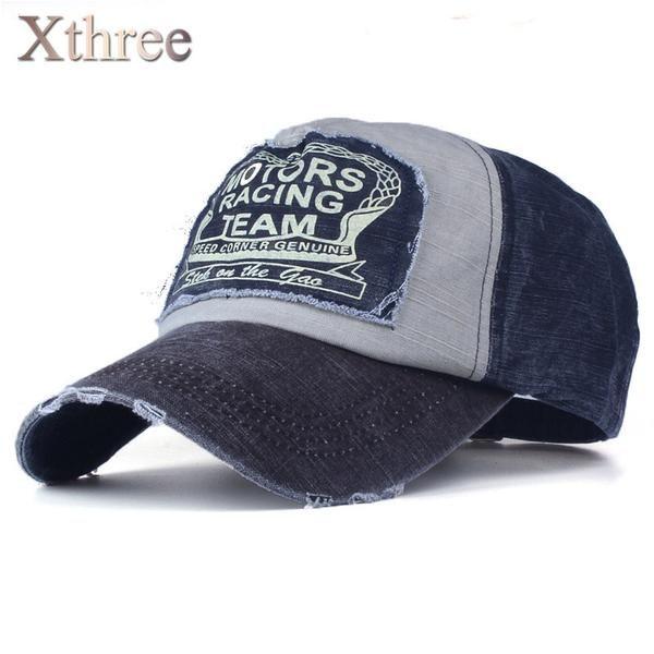 FuzWeb:Xthree wholesale baseball cap snapback hat spring cotton cap hip hop fitted cap cheap hats for men women summer cap