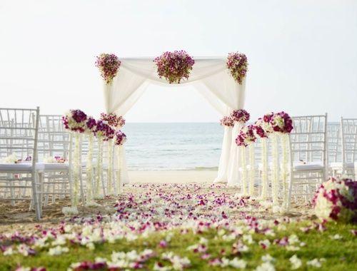 Die besten 25 Hochzeit am strand Ideen auf Pinterest