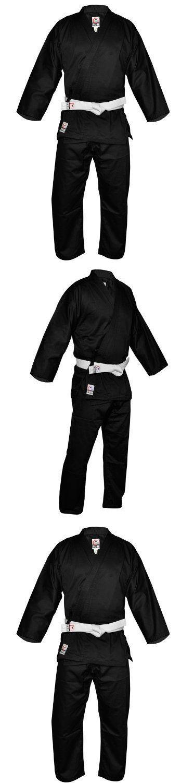 Jackets 179771: Fuji Karate Uniform Black 3 Mens Martial Arts Uniform Jacket, New -> BUY IT NOW ONLY: $49.78 on eBay!