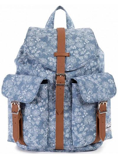 Dawson Backpack in Floral Chambray  66bc54b7bc5c9