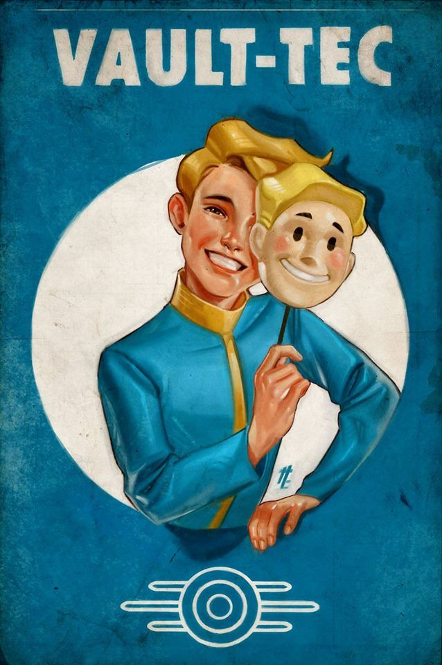 Vault-Tec - the best in post-apocalyptic entertainment