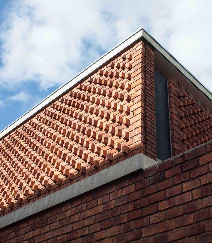 www.veredas.arq.br     Pin Inspiração: Casa de Ladrillo / Paulo Ambrosoni. #arquitetura #architecture #casas #tijolinho