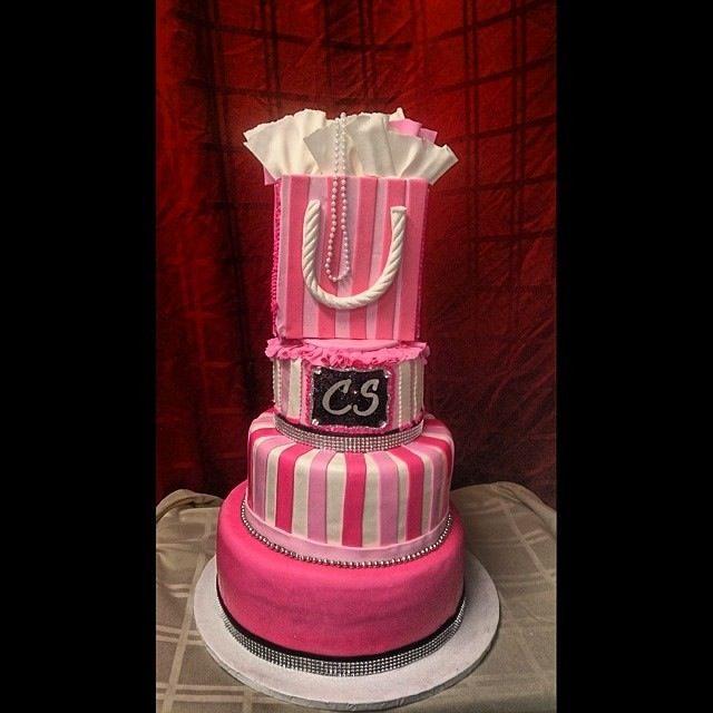 Victorias Secret Themed Sweet 16 Cake Sweet 16 Cakes