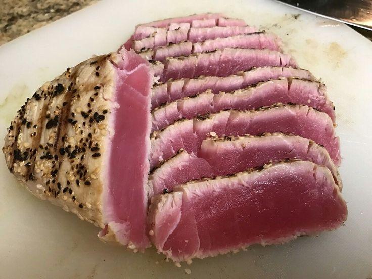 Seared Bluefin Tuna Steak