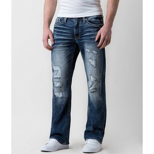 Mens fashion bootcut jeans