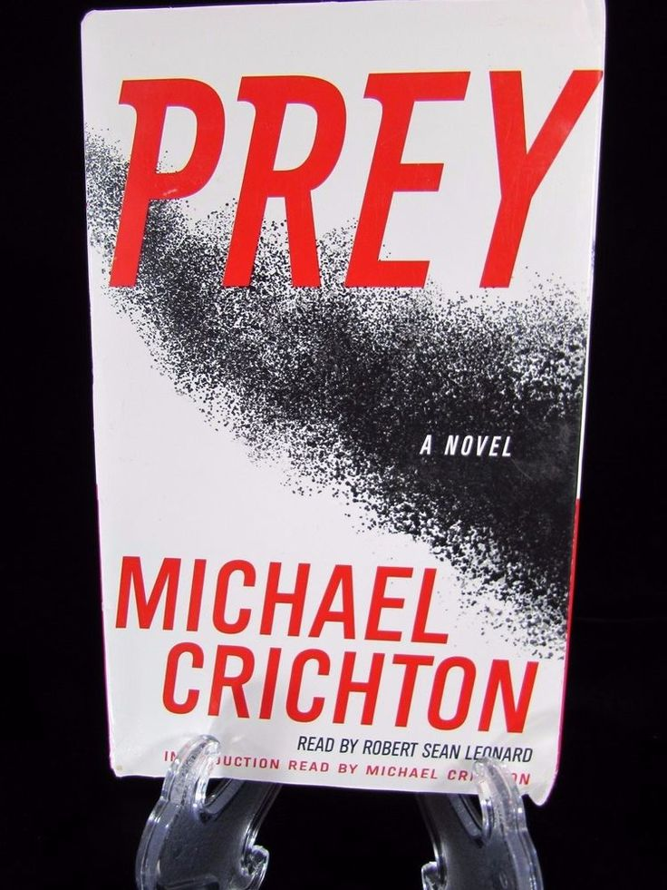 Prey A Novel by Michael Crichton Audiobook 4 Cassettes 6 Hours Abridged