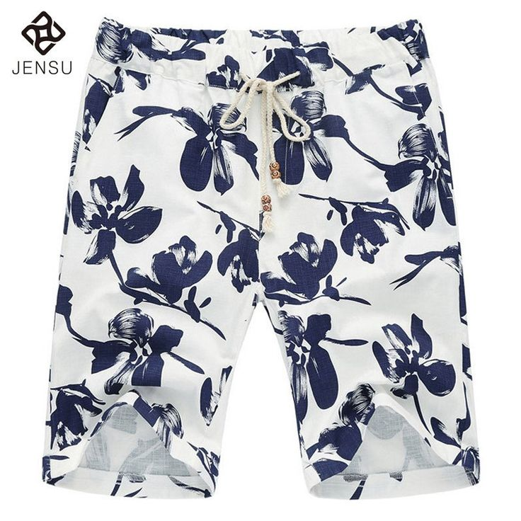 2018 preseason designs men's casual floral shorts Men Shorts. Casual Fashion Slim Fit