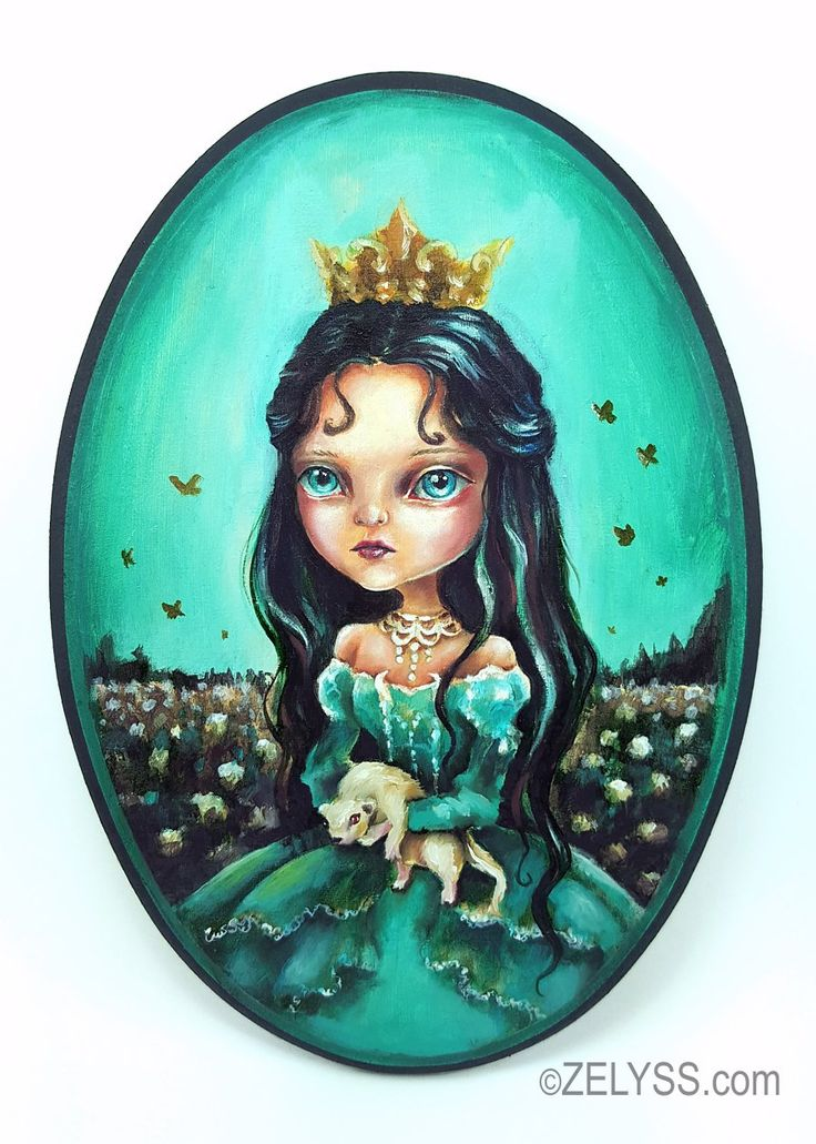 Image of ZELYSS originals: 'Princess of the daffodiles'