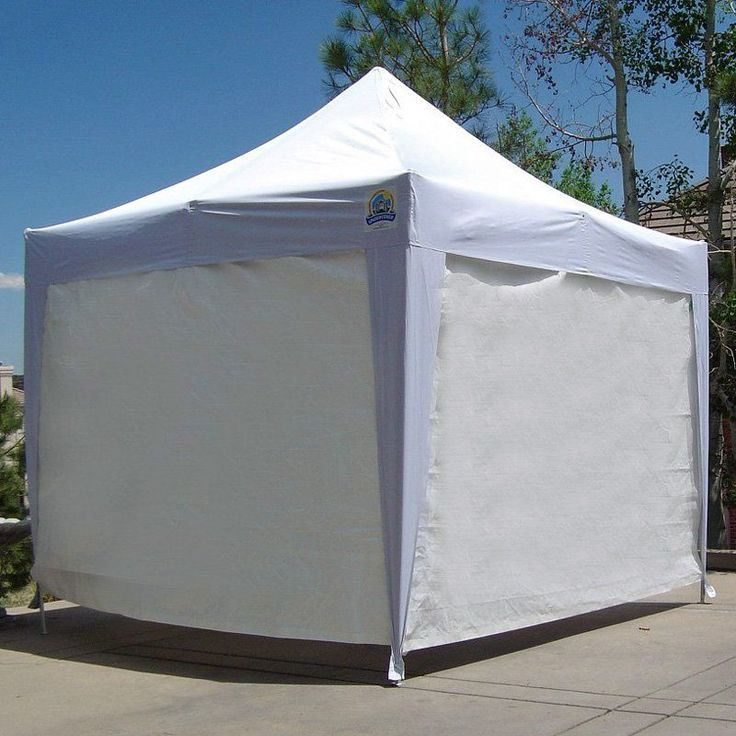 UnderCover 10 x 10 Professional Honeycomb-Core™ Aluminum Instant Canopy with Optional Sidewalls - UCC007