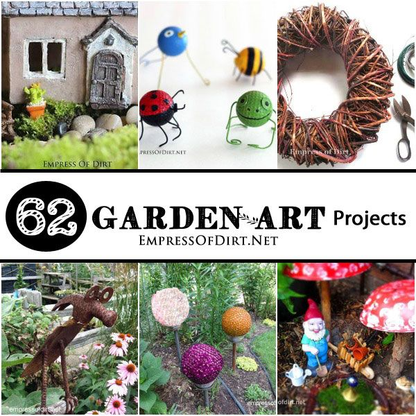 17 best images about crafts garden art on pinterest for Diy crafts using recycled materials