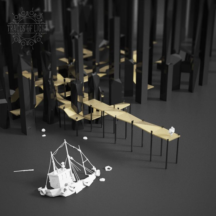 Feast your eyes on the lovely low-poly art of Traces of Light - Kill Screen - Videogame Arts & Culture.