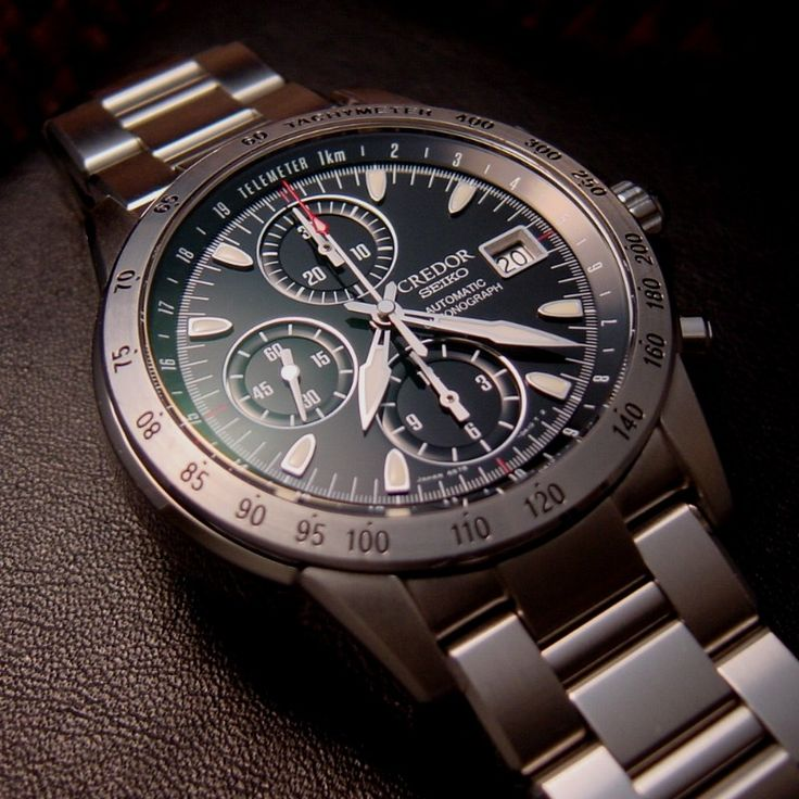 Credor Seiko Automatic Chronograph
