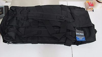 Uncle Mike's Tactical Equipment and Duty Bag with Shoulder Straps Nylon Black