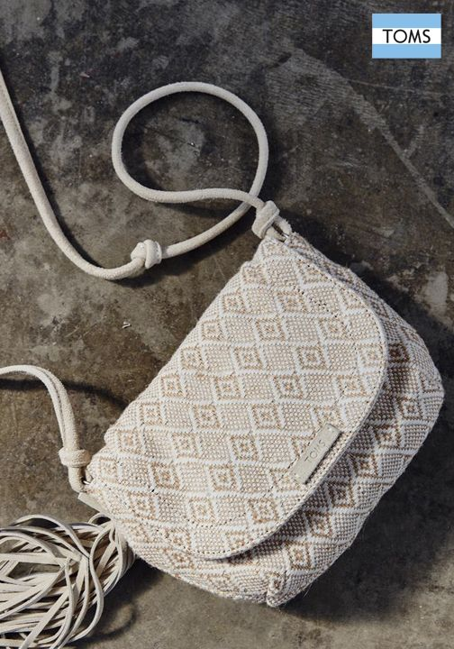 TOMS new crossbody bags are here just in time for spring.