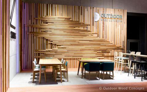 Biënnale Interieur Kortrijk 2014 - gevelbekleding in hout