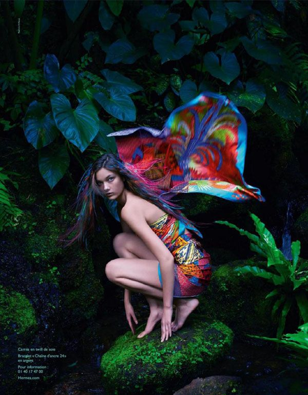 Diana Moldovan & Yumi Lambert For Hermes Spring/Summer 2014Campaign - 15 GlamTribale Nature Inspired Jewelry - Anne of Carversville Women's...