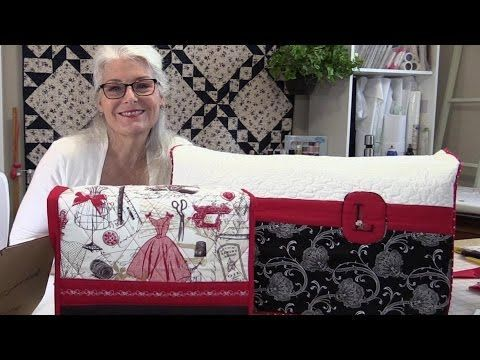 A Quick and easy Stitch to Quilt Your Quilt - YouTube