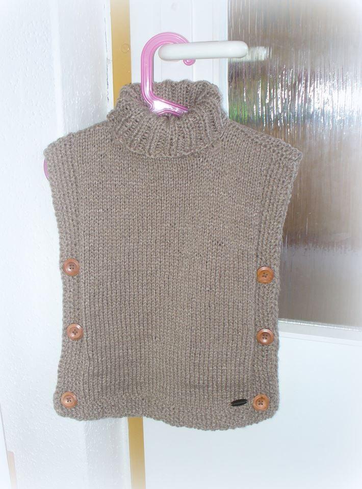 knit wool vest