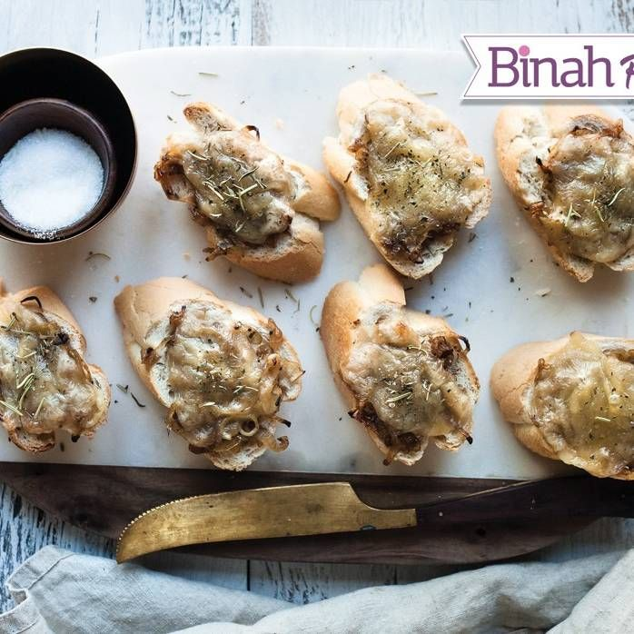 French Onion Bread! We won't judge you if you go for seconds... or thirds. #kosher | www.kosher.com