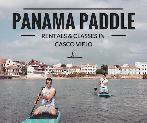 Read about my experience paddle boarding in Casco Viejo, Panama and how you can sign up for classes yourself!