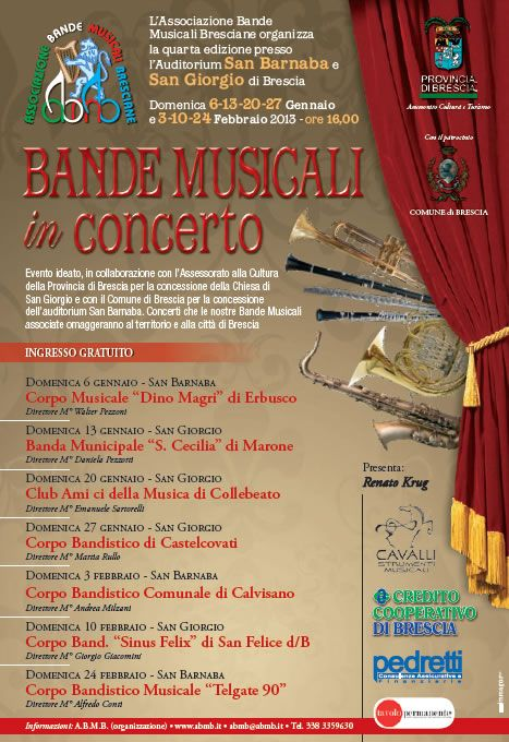 Bande Musicali in Concerto a Brescia http://www.panesalamina.com/2013/7988-bande-musicali-in-concerto-a-brescia.html
