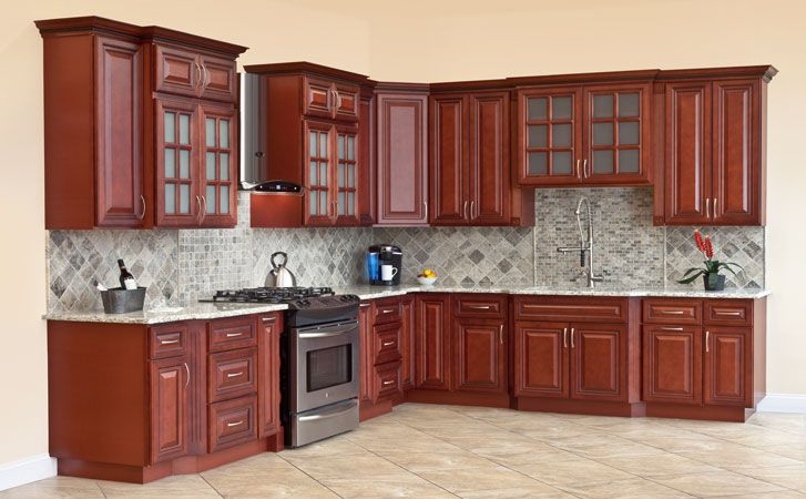 Cherryville Kitchen 215 745 7900 Fully Upgraded All Wood Construction Cherry Sta Wood Kitchen Cabinets Solid Wood Kitchens Solid Wood Kitchen Cabinets