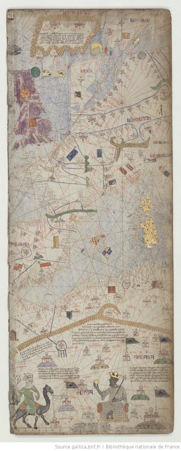 Atlas catalan excut vers 1375 VILADESTES Meci