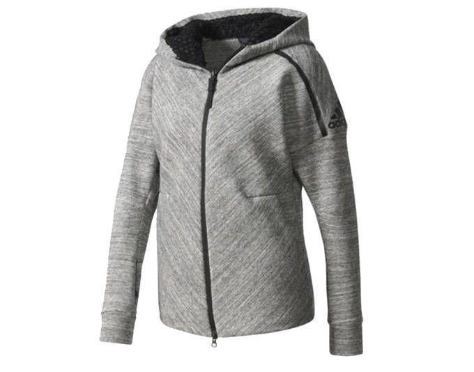 adidas Originals ZNE Roadtrip Hoodie Jacke Damen Kapuzenjacke Trainingsjacke Grau B46931 [Größenaus Jetzt bestellen unter: https://mode.ladendirekt.de/damen/bekleidung/jacken/trainingsjacken/?uid=74a4939e-3a74-5654-b5ce-fc2b6fd50fcf&utm_source=pinterest&utm_medium=pin&utm_campaign=boards #trainingsjacken #bekleidung #jacken