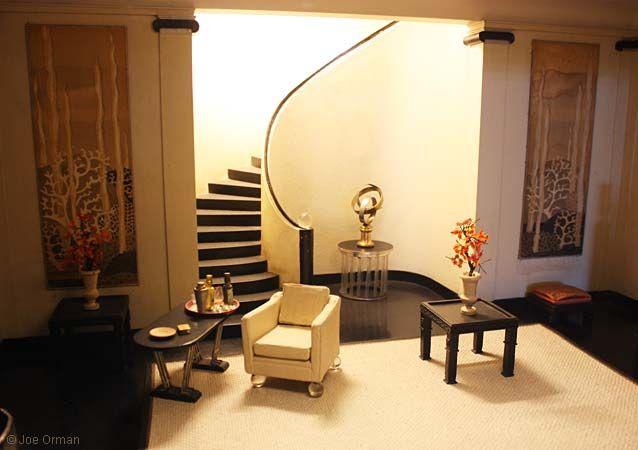 140 best 01 mini room boxes scenes images on pinterest for Art deco furniture chicago
