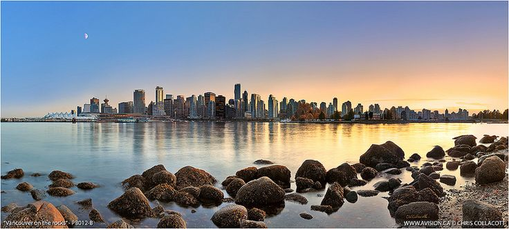 Vancouver Skyline, image by Avision Photography