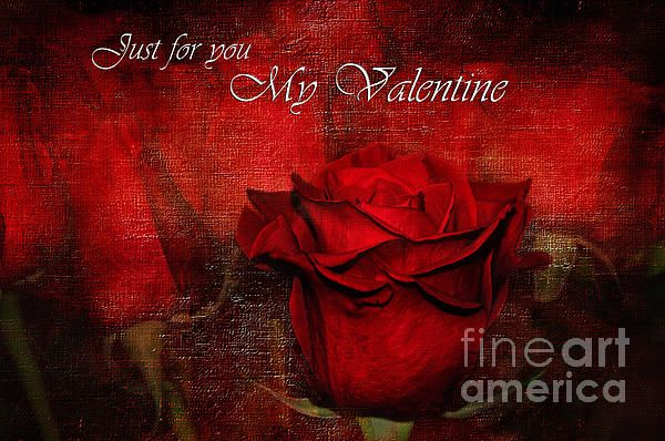 #JUST FOR #YOU #MY #VALENTINE #Love - Quality Prints & Greeting Cards at: http://kaye-menner.artistwebsites.com/featured/just-for-you-my-valentine-kaye-menner.html?newartwork=true  -