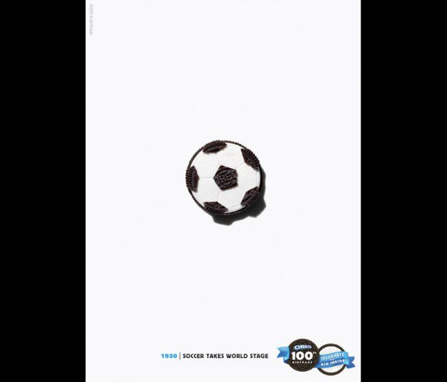 OREO 100th Birthday - 1930 | Soccer Takes World Stage