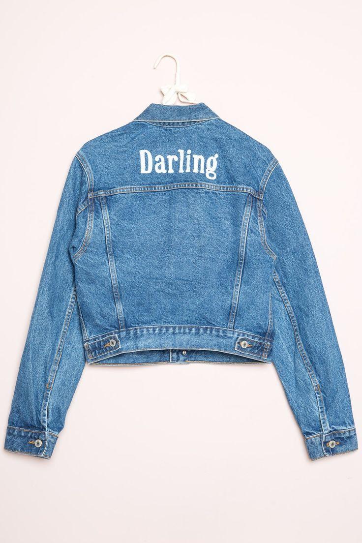 Brandy ♥ Melville   Jackson Darling Denim Jacket - Clothing