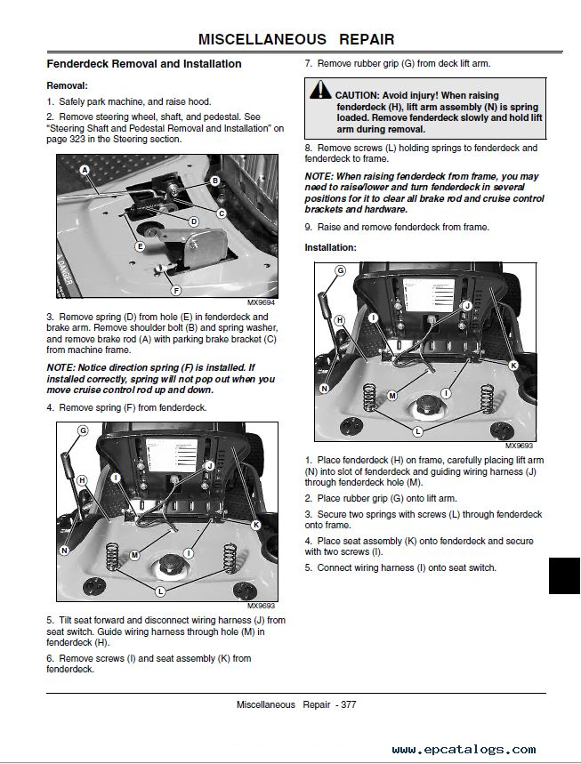 Newbie Question For Starter Solenoid On Deere L120a Manual Guide