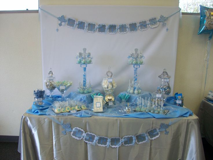 Baptism candy buffet | Its My Party