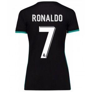 Real Madrid Cristiano Ronaldo 7 Dámské Venkovní Dres 17-18 Krátký Rukáv