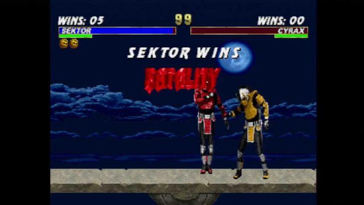 Mortal Kombat Trilogy - Stage Fatality GLITCH